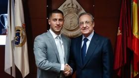 Bisakah Hazard Pakai Nomor 10 di Real Madrid?
