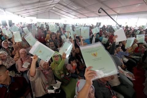 Jokowi Bagikan 3.000 Sertifikat Tanah di Bali
