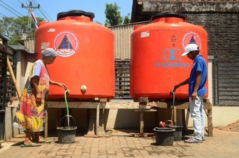 Hadapi Kemarau, BPBD Kudus Siapkan 285 Tangki Air Bersih