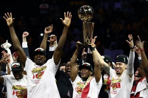 Kalahkan Warriors, Raptors Juara NBA untuk Pertama Kali