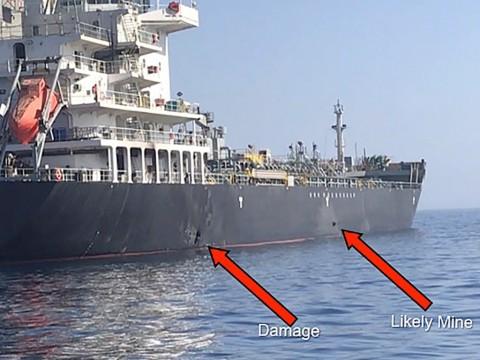 AS Rilis Video Bukti Iran Dalang Penyerangan Kapal Tanker