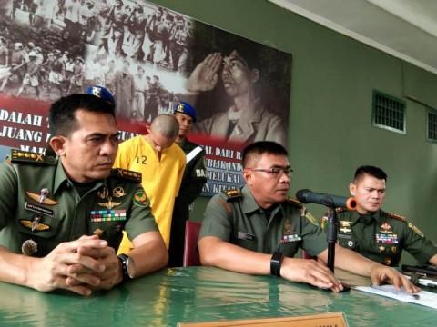 Oknum TNI Pelaku Mutilasi Ditangkap