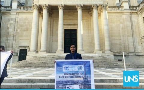 Adu Diplomasi, Mahasiswa UNS Menang di Paris