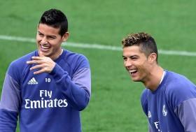 Bos Muenchen Akui Ronaldo Ajak James Rodriguez ke Juventus