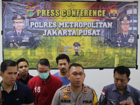 Polisi Tangkap Pengemudi BMW yang Todongkan Senpi di Gambir