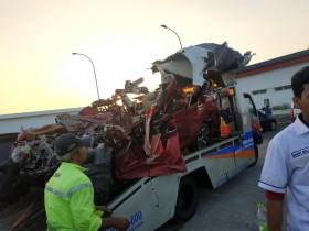 Sopir Diserang Penyebab Kecelakaan Maut Tol Cipali
