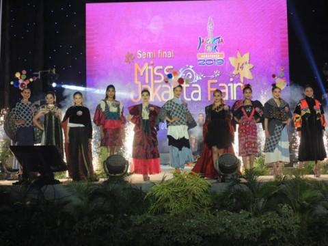 20 Perempuan Lolos ke Semifinal Miss Jakarta Fair