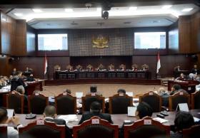 MK Batasi Jumlah Saksi di Sidang Sengketa Pilpres