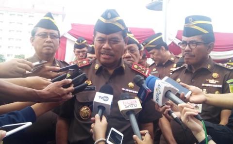 Jaksa Agung Bantah 10 Kasus Korupsi Mangkrak