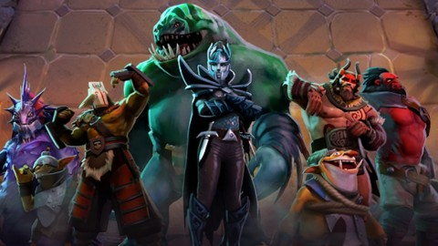 DOTA 2 Underlords Usung Game Auto Chess