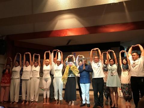Indonesia jadi Tuan Rumah Hari Yoga Internasional Kelima