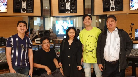 Rekaman di Austria, Vidi Aldiano Libatkan Erwin Gutawa dan Gita Gutawa