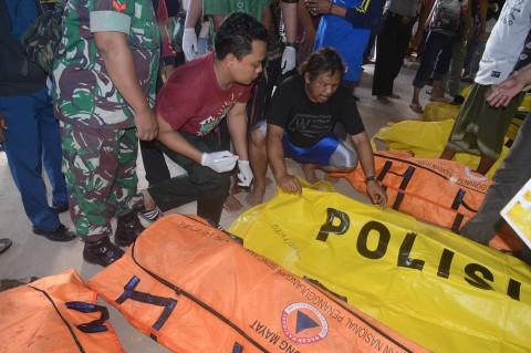 Korban Tewas Kapal Tenggelam di Sumenep Jadi 17 Orang