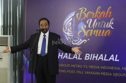 Suasana Halal Bihalal Media Group