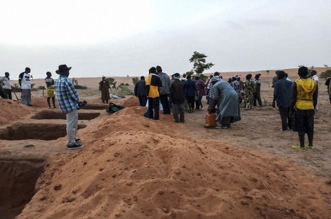 Serangan di Dua Desa Mali Tewaskan 38 Orang