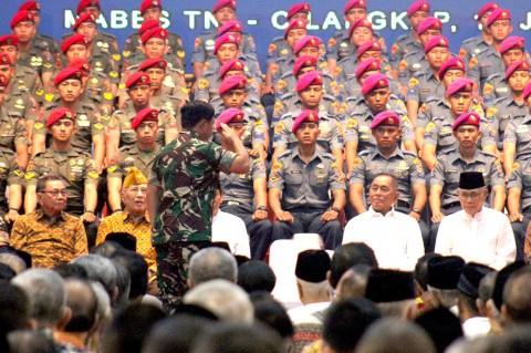 Gelar Halalbihalal, Panglima TNI Berterima Kasih Kepada Purnawirawan