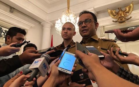Anies Mengaku Tak Kuasa Menolak Penerbitan IMB