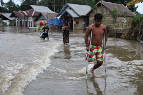 BNPB: 5.847 KK Terdampak Banjir di Konawe