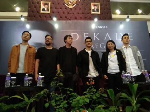 Afgan Janjikan Panggung Konser Dekade Jakarta Berbeda dari Malaysia