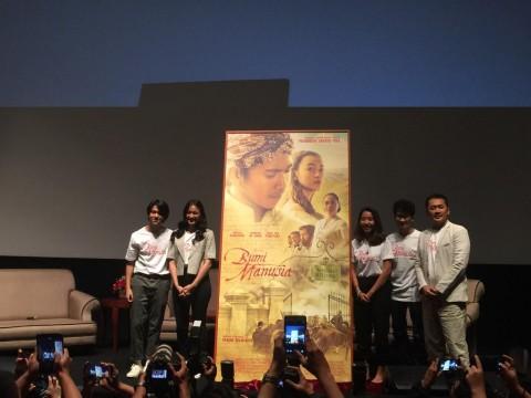 Isi Surat Pramoedya saat Menjadi Tapol Dibacakan di Peluncuran Poster Film Bumi Manusia