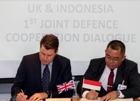 Indonesia-Inggris Sepakat Kembangkan Kerja Sama Pertahanan
