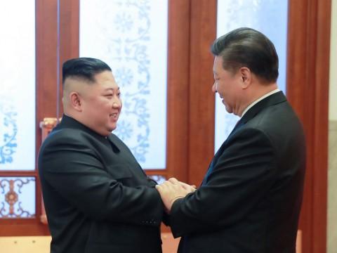 Bahas Trump, Presiden Tiongkok Bertemu Kim Jong-un