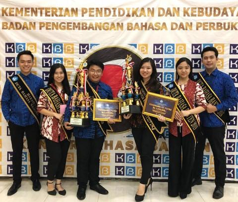 Mahasiswa UMN Jadi Duta Bahasa Banten