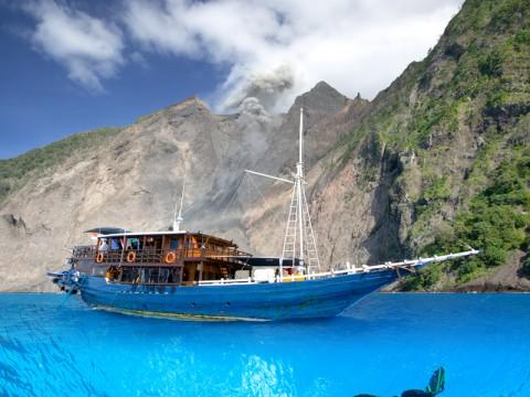 Boat Rombongan Pengantin Tenggelam di Pulau Aceh