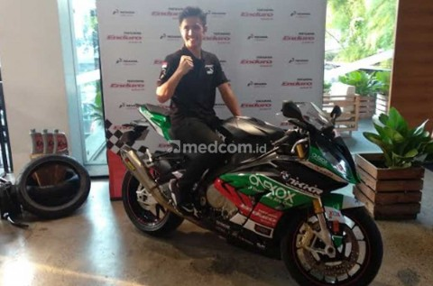 Ali Adriansyah Tertantang Tunggangi Superbike 1.000 cc