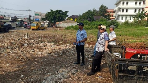 Jalan Simpang Gondrong akan Diperlebar