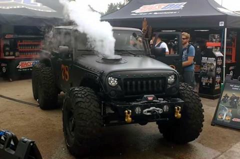 Jeep Wrangler Aplikasi Mesin Uap Garapan Haux Design