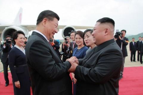 Kim Jong-un Sebut Persahabatan Korut-Tiongkok
