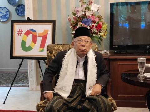 KH Ma'ruf Amin Berikan Nasihat Setelah Deddy Corbuzier Mualaf