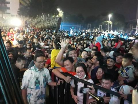 Kala Anies Menyapa Warga di HUT DKI Jakarta