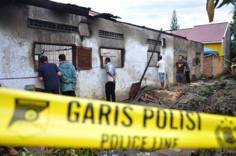 TIM DVI Idenfitikasi 7 Korban Kebakaran Pabrik Macis