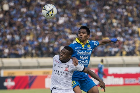 Persib Ditahan Imbang Madura United 1-1