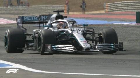 Duo Mercedes Tidak Terbendung di GP Prancis