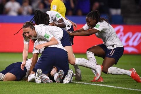 Dramatis, Prancis Singkirkan Brasil dari Piala Dunia Wanita