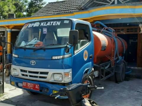 800 Tangki Air Disiapkan untuk Warga Klaten saat Kemarau