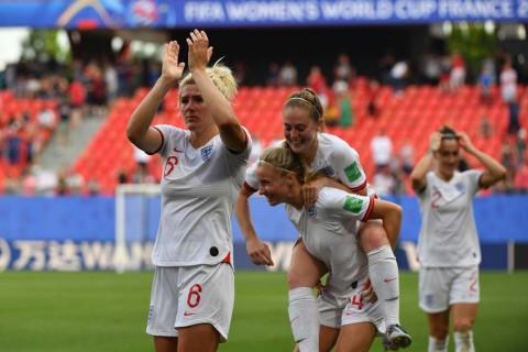 Inggris Melaju Mulus ke Perempat Final Piala Dunia Wanita