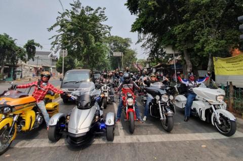 Misi Unik Touring MBI ke Bekasi