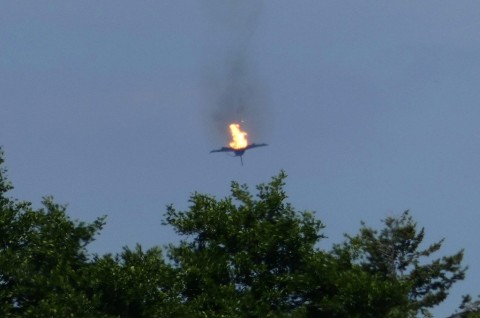 Seorang Pilot Tewas dalam Tabrakan Dua Jet di Jerman