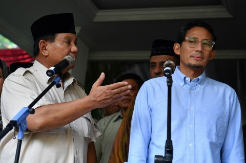Prabowo Bahas Nasib Koalisi Pascaputusan MK