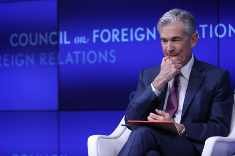 Pidato Ketua Fed Gerus Wall Street