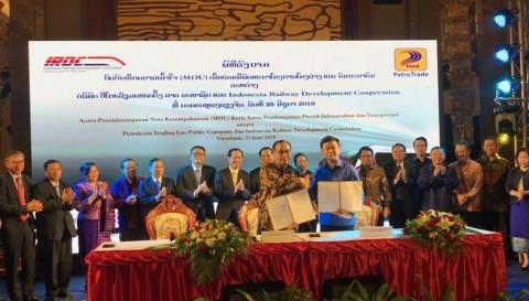 Indonesia Bangun Kereta Senilai Rp9 Triliun di Laos