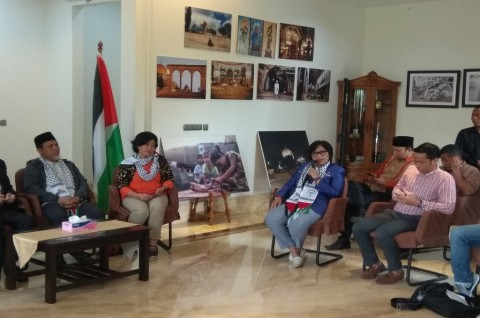 Dukung Perjuangan Palestina, NasDem Kecam Konferensi Manama
