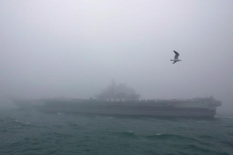 Kapal Induk Tiongkok Jangkau Selat Taiwan