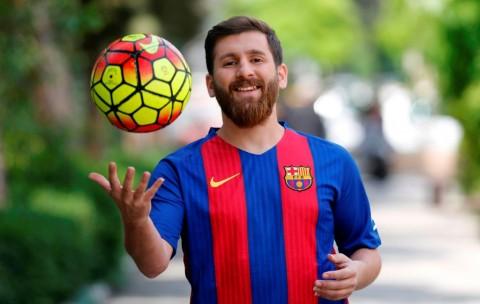 Reaksi Messi Palsu Usai Dituding Tiduri Wanita