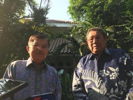 Kalla Ingin Berkolaborasi dengan SBY