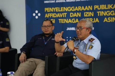Kemenkumham Jambi Imbau WNA Melengkapi Administratif Keimigrasian